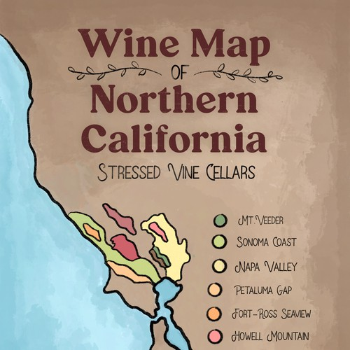 Wine Map of NoCal