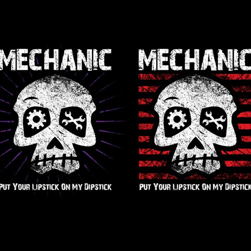 Mechanics T-Shirt Design