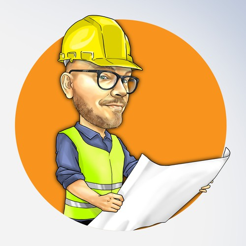 Caricature for a CEO