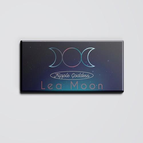 Lunar themed makeup highlighter palette