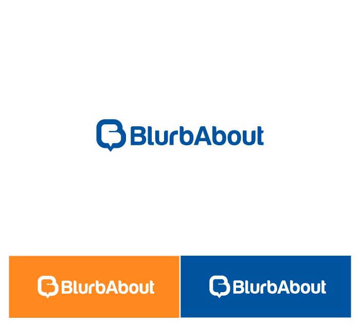 BlurbAbout!  Make a logo for us!