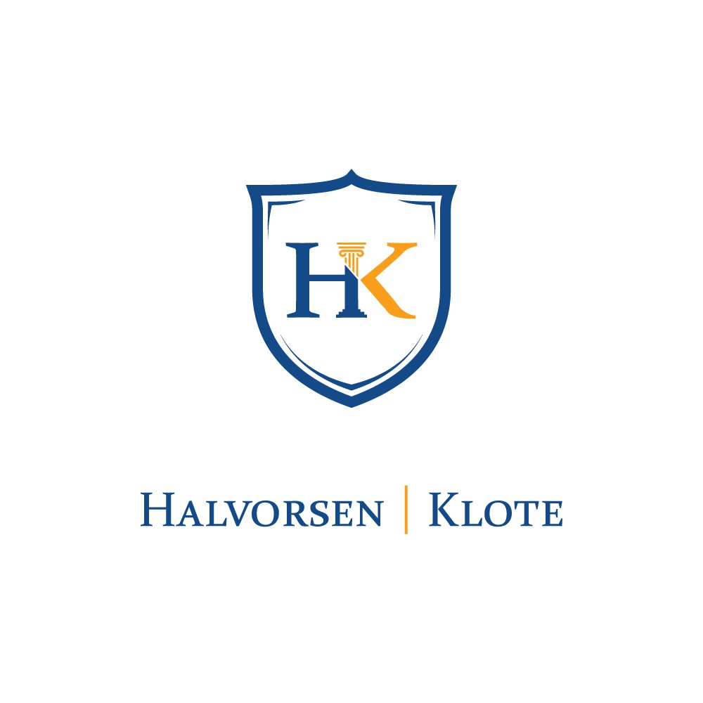 New logo for the law firm, Halvorsen Klote ready for a classic, honest, and genuine logo