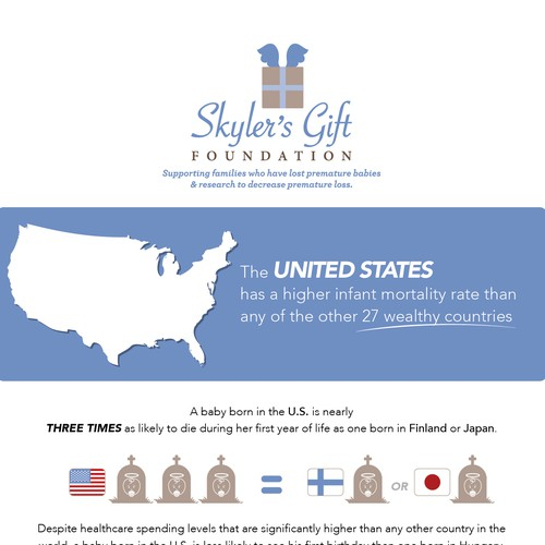 Infographic for Skylet's Gift (nonprofit organization)