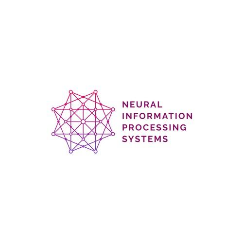 Geometric octagonal star logo