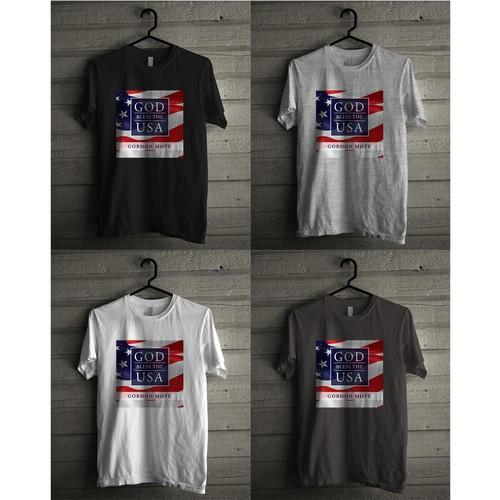 GOD BLESS THE USA T Shirt