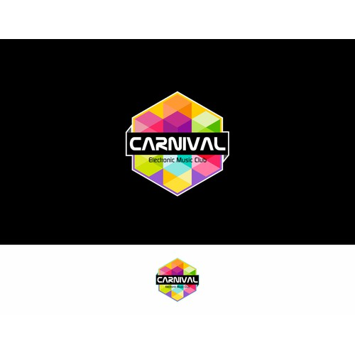 Create bright and bold logo for Carnival Electronic Music Club