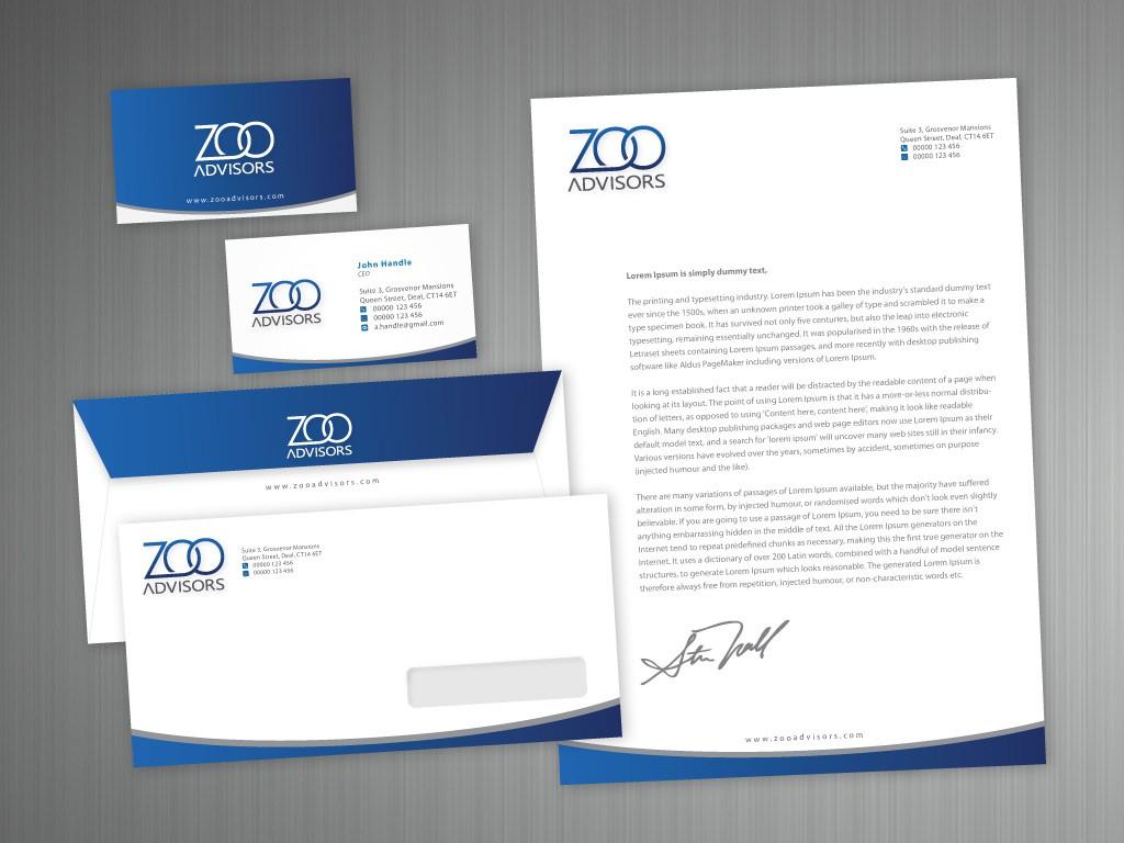 Zoo Advisors, LLC needs a new stationery