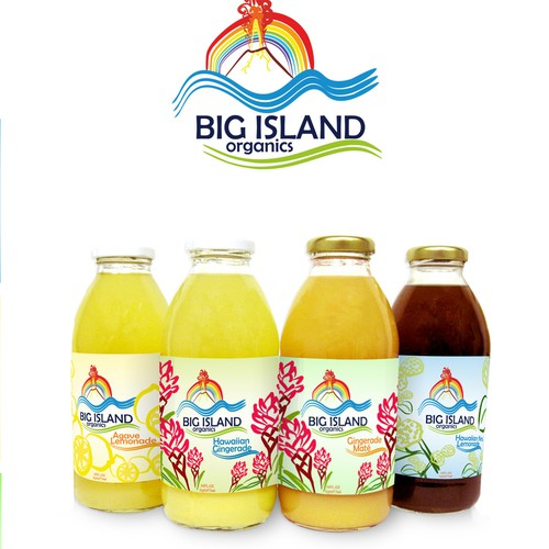 New product label wanted for Big Island Organics