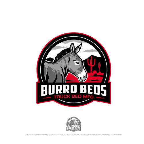 Burro Beds Trucking MFG Logo