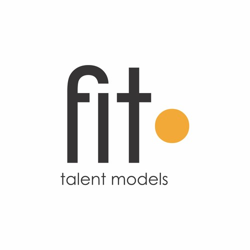 Logo design for Fit Talent Models Agency