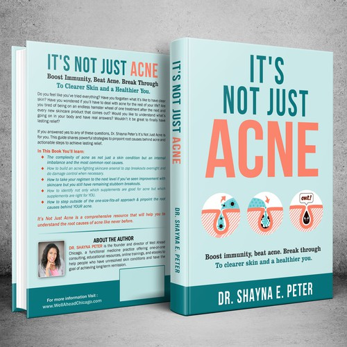 Bold , Clean Healing ACNE book cover