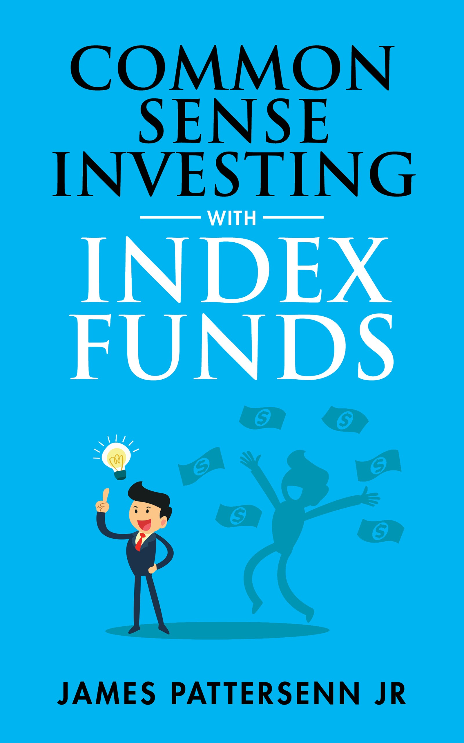 Index Funds Investing Cover Design
