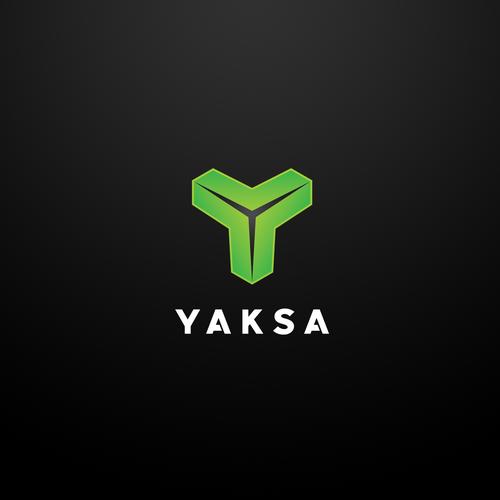 Modern logo concept for Yaksa