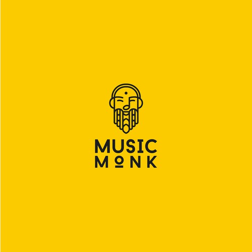 Logo for Music Monk company