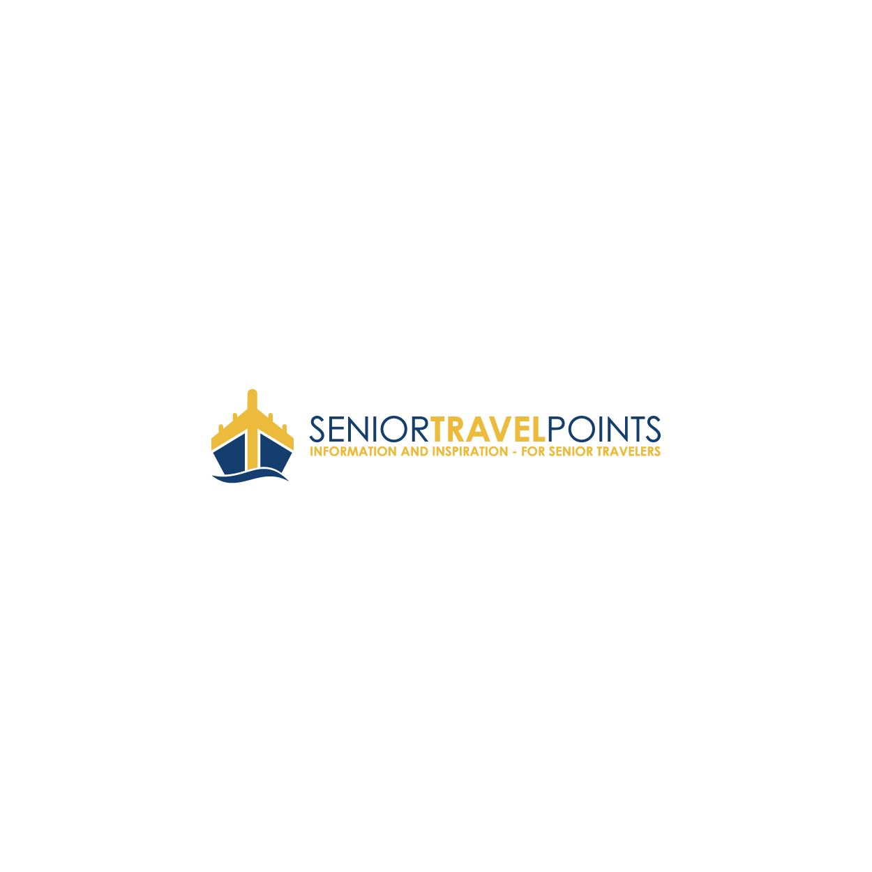 Create an awesome logo for Senior Travel Points!