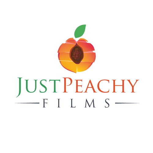 Create a Just Peachy design for a documentary film company