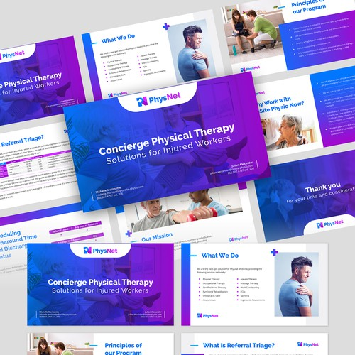 PPT Presentation for Next-Gen Physical Therapy Company