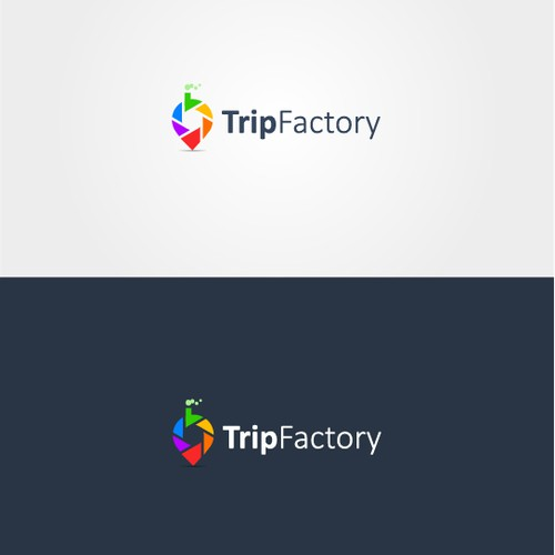 Colorful Logo for Trip Factory