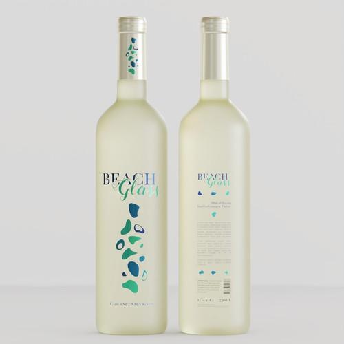 Wine Bottle Label Solely To Women