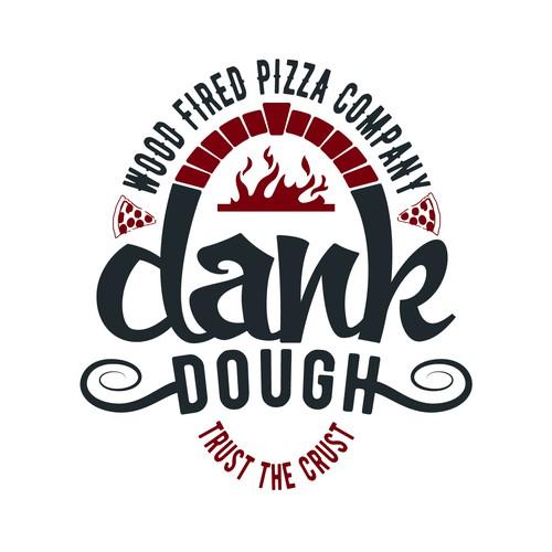 Pizza company logo.