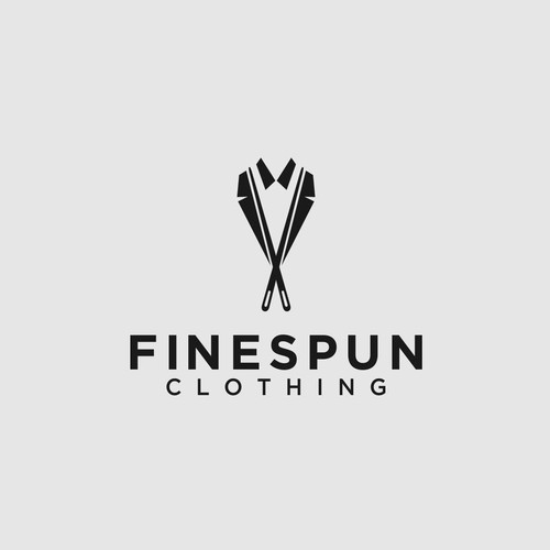 MINIMALISTIC & CLEAN LOGO FOR NEW MAN'S CLOTHING COMPANY