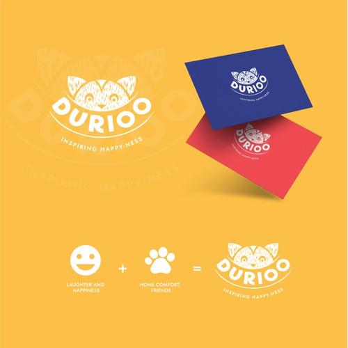 Durioo logo design