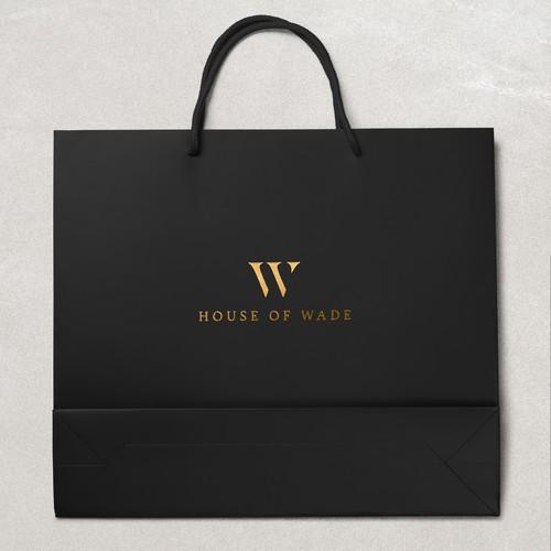 Logo design for a luxury brand.