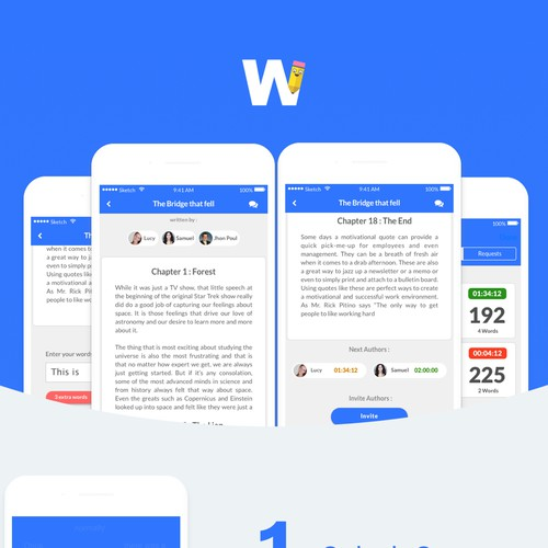 Words to share App