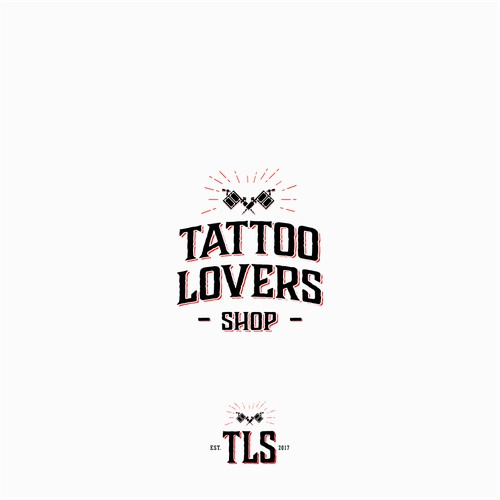Get your work seen by millions! Online Tattoo Community - Tattoo Lovers Shop logo design