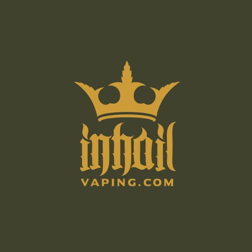 Royal Logo for InHail Vaping.com