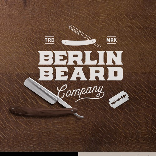 Berlin Beard Company Logo.