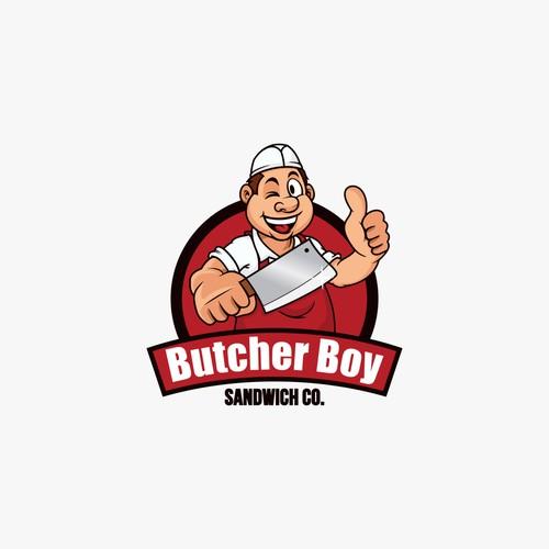 Butcher Boy Sandwich Co. searches for upbeat, cartoon-like logo