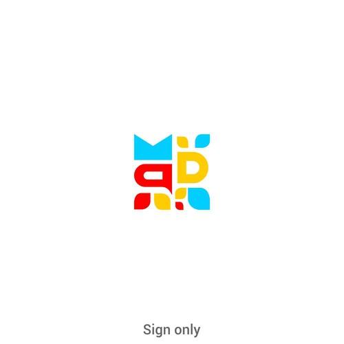 Design Digital Marketing Agency Logo