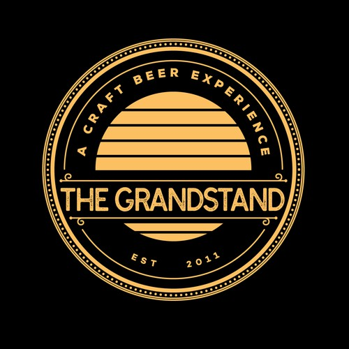 The Grandstand: A Craft Beer Experience logo