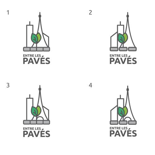 Logo pour paysagiste à Paris