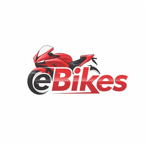 e Bikes Logo Design