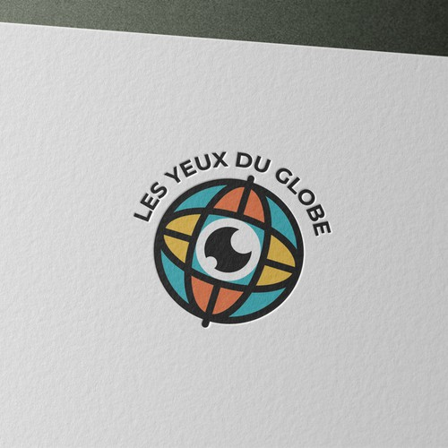 Bold logo for travelling vlog
