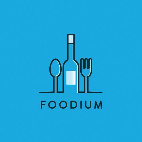 Foodium Logo