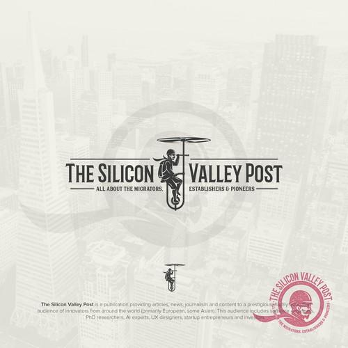 "Design a prestigious logo for our publication ""The Silicon Valley Post"""