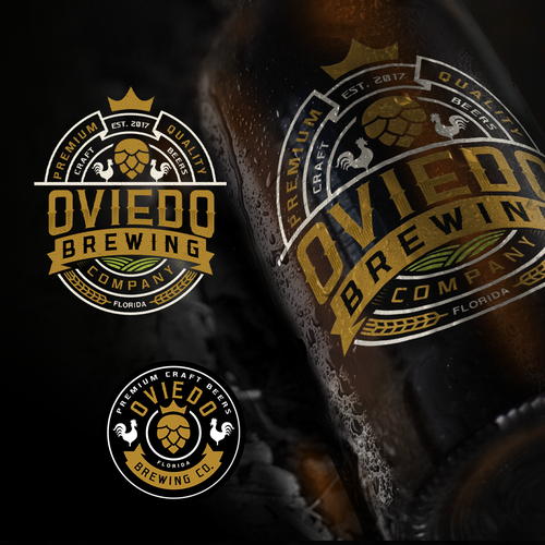 Vintage / hipster logo for a new Brewery Company