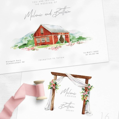 Wedding Venue Invitation