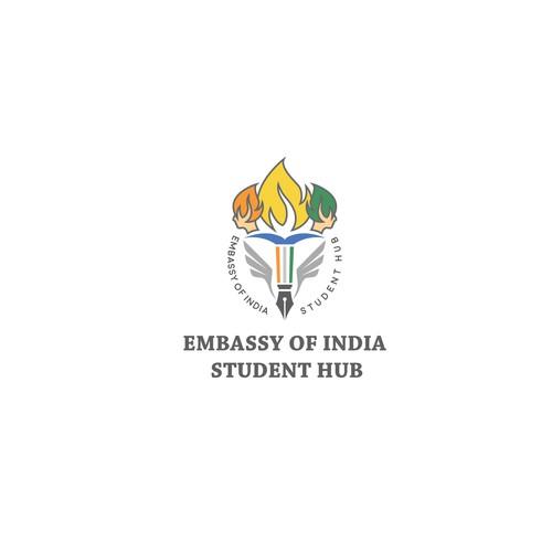 Logo for embassy student hub