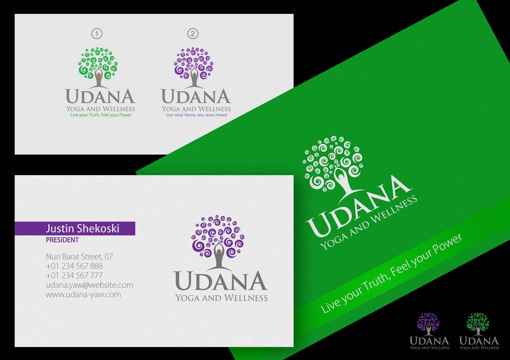 Udana Yoga and Wellness needs a new logo