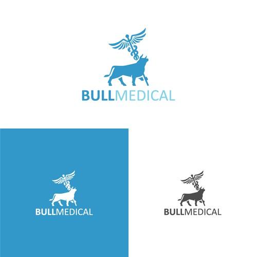 Bull medical logo.