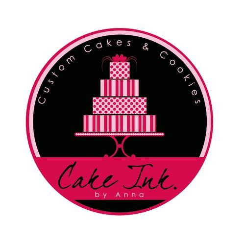cake and bakery logo