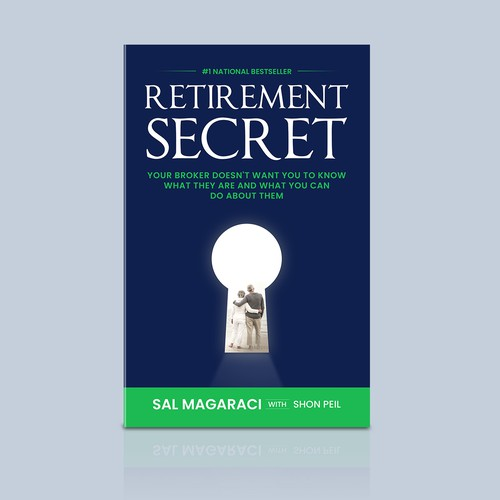 Book Cover design on Retirement Secrets