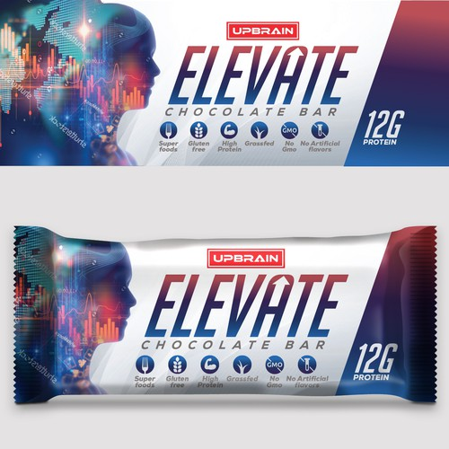 Elevate- Chocolate bar design