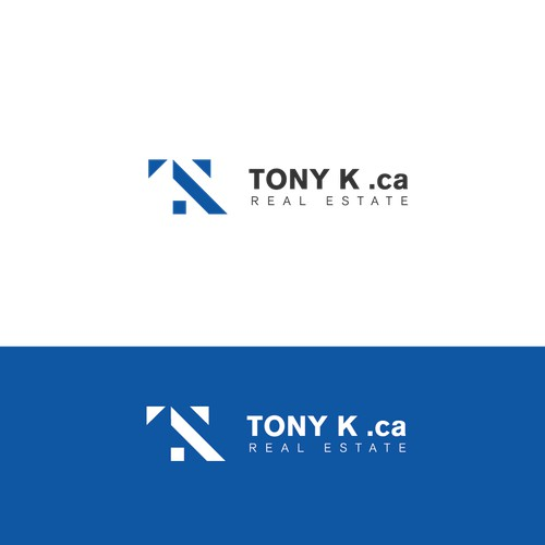 Modern logo for real estate company.