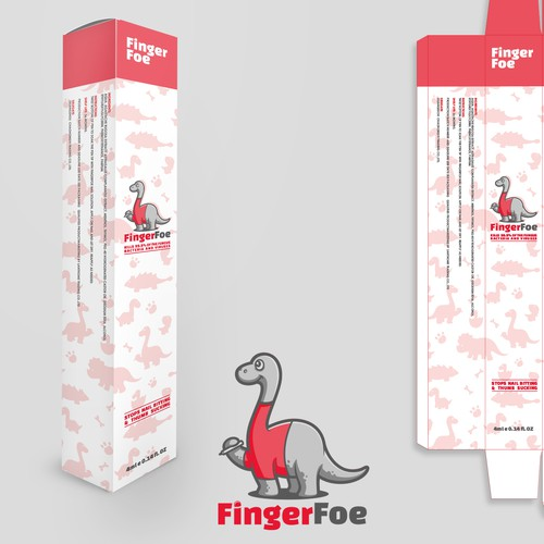 Packaging for nail-biting preventative