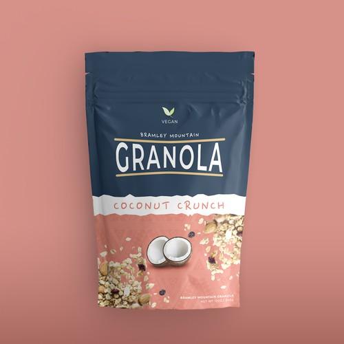 Vegan Granola Packaging